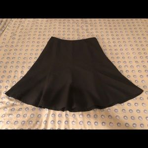 Black Coldwater Creek flared skirt